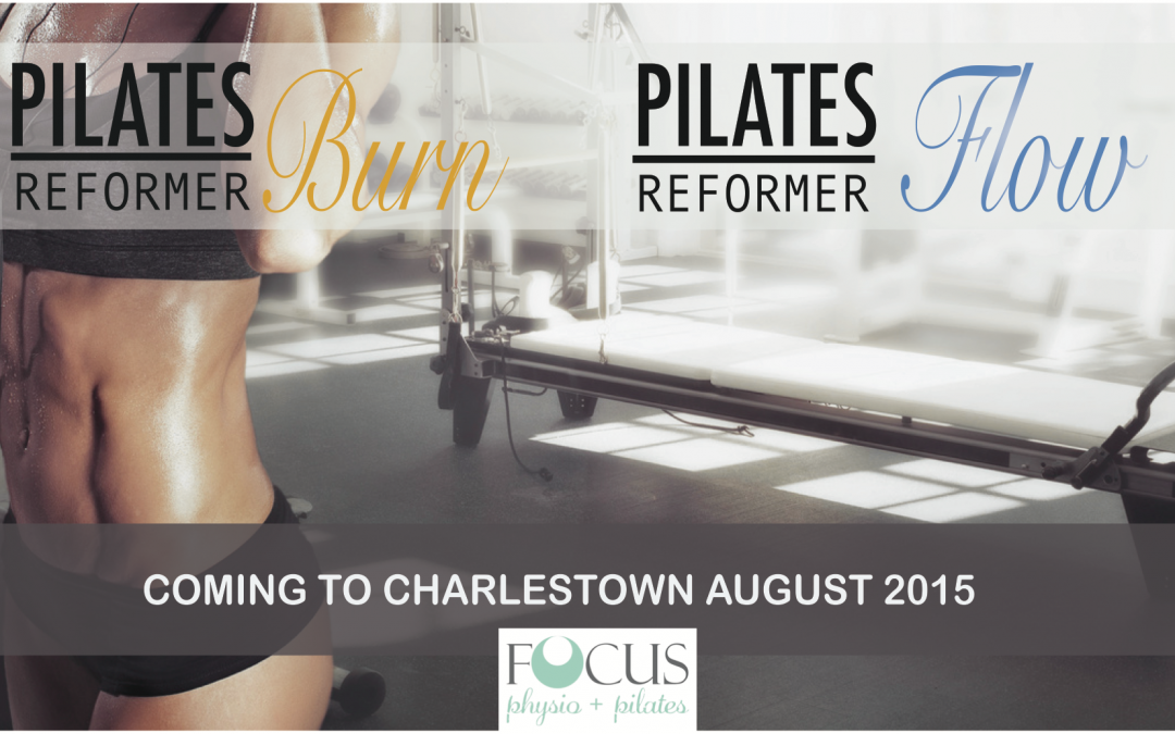 NEW! Pilates Reformer classes coming to Charlestown